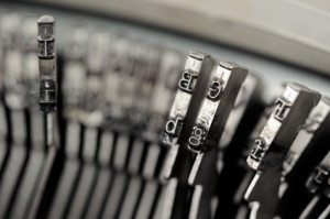 Krausz in the News - typewriter